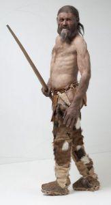 Hipotética reconstrucción del hombre de hielo, ÖTZI