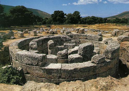 Restos del Santuario de Asclepio